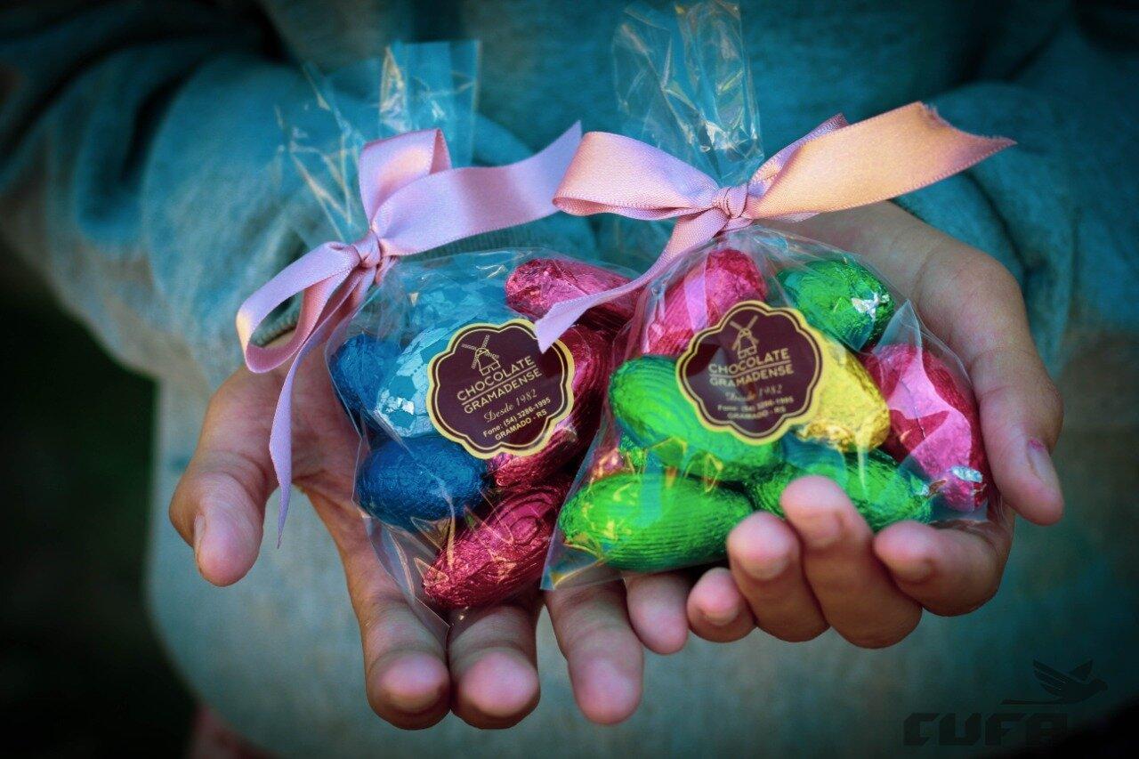 Páscoa 2020, a solidariedade com gosto de chocolate