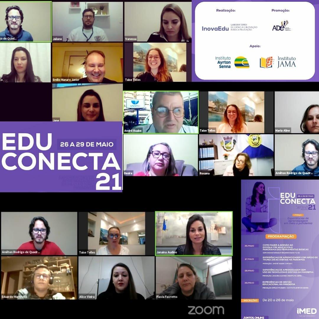 Mais de 2300 educadores participaram do EduConecta21